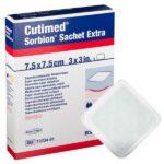 Cutimed Sorbion Sachet Extra Hidropolímero Superabsorbente